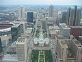 Downtown St. Louis from the Arch - panoramio.jpg