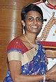 Dr. Manjula Anagani, receiving Padma Shri in 2015 (cropped).jpg