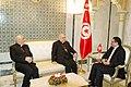 Dr Rafik Abdessalem a reçu Mgr Michel Sabbah, Patriarche de Jérusalem (6886731379).jpg