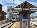 Draper Town Center station platform, closeup, Jan 15.jpg
