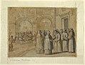 Drawing, Meeting of Saints Francis and Clara, ca. 1630 (CH 18550769).jpg