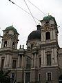 Dreifaltigkeitskirche Salzburgo Fischer von Erlach.JPG