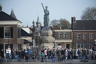 Replicas of the Statue of Liberty - Replica of the Statue of Liberty in Assen, the Netherlands