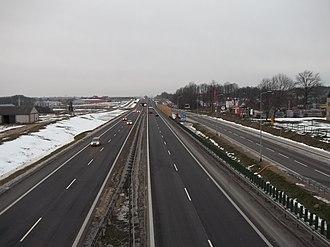 National road 8 (Poland) - Image: Droga ekspresowa nr 8 Choroszcz