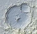 Du martheray impact crater on Mars.jpg