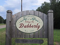 Dubberly, LA, welcome sign IMG 0367.JPG
