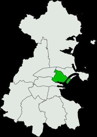 Dublin North-Central (Dáil Éireann constituency) - Image: Dublin North Central Dáil Éireann constituency