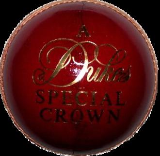British Cricket Balls Ltd - A Dukes cricket ball