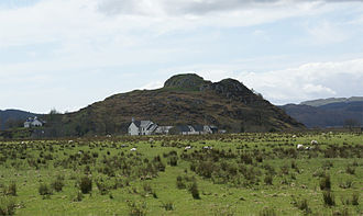 Scotland in the Early Middle Ages - Dunadd Fort, Kilmartin Glen, probably the centre of the kingdom of Dál Riata