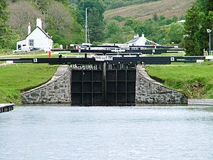 Crinan Canal - Dunardry locks