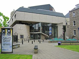 Dundee Repertory Theatre theatre in Dundee, Scotland