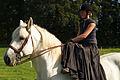 Duo de cavalières mondial du cheval percheron 2011Cl J Weber04 (23456694723).jpg
