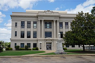 Bryan County, Oklahoma - Image: Durant June 2018 02 (Bryan County Courthouse)