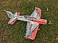 E-flite UMX Yak 54 3D on grass IMG 4408 FRD.jpg
