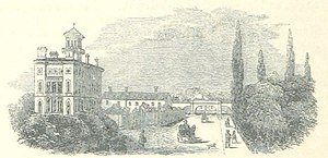 Colchester railway station - Colchester railway station in 1851, before its rebuilding in 1865