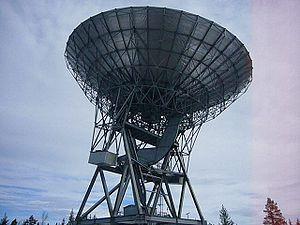 EISCAT - EISCAT Kiruna Radar (diameter 32m)