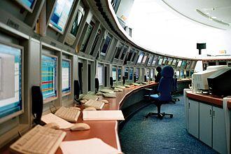 Meteosat - The MSG control centre in Darmstadt