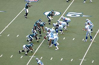 2007 Dallas Cowboys season - Dallas vs. Philadelphia in the 2007 season, week 15, with Tony Romo in the shotgun