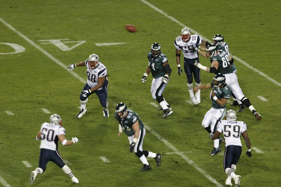 Eagles on offense at Super Bowl XXXIX 1