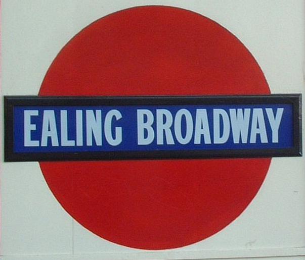 Ealing Broadway Roundel