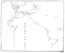 Early voyages to Terra Australis - map facing p.37.png