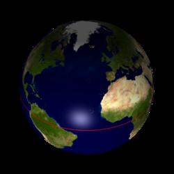 jordens omkrets