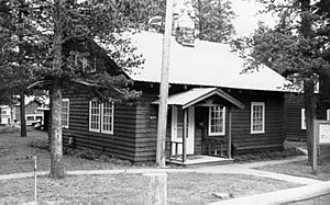 East Glacier Ranger Station Historic District - Image: East Glacier Ranger Station Residence Office
