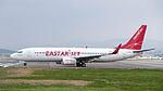 Eastar Jet B737-86J HL8264 Departing from Taipei Songshan Airport 20150101c.jpg