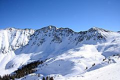 A-Basin's East Wall in December 2005