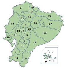 Ecuador Wikipedia - Map ecuador