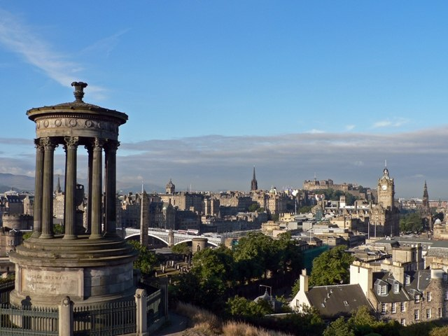 Edinburgh. View from Calton Hill