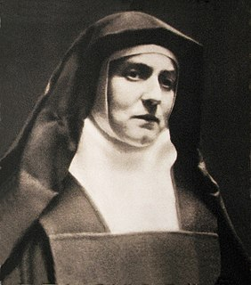 Edith Stein Jewish-German nun, theologian and philosopher