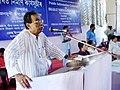 Editor, Asomia Pratidin, Shri Haider Hussain addressing the valedictory function of Public Information Campaign organised by Press Information Bureau, Guwahati at Uparhali in Kamrup district on August 12, 2006.jpg