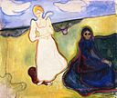 Edvard Munch - Two Women in a Landscape (1897-99).jpg