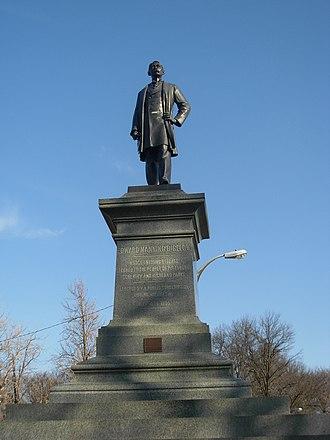 Edward Manning Bigelow - Edward Manning Bigelow monument in Schenley Park