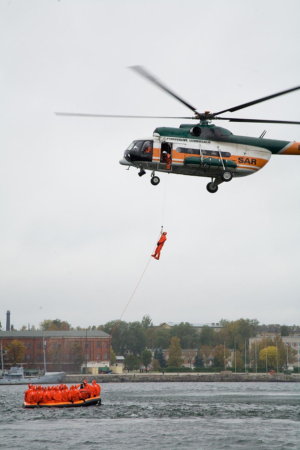 Eesti piirivalve Mi-8