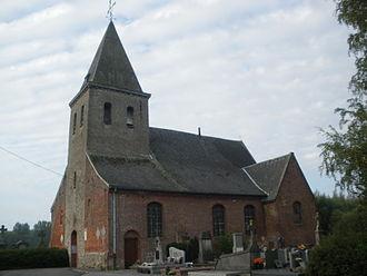 Aix, Nord - Image: Eglise Saint Laurent d'Aix (Nord) 2