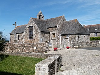 Andel, Côtes-d'Armor - The church of Saint-Pierre and Saint-Jean-Baptiste