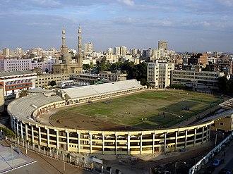 Zagazig - Image: Egypt Zagazig Stadium Nov 2006