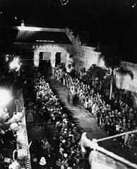 Exterior del Grauman's Egyptian Theatre, 1922