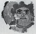 Egyptian - Wall Hanging or Curtain Fragment with Head of a Woman - Walters 83689.jpg