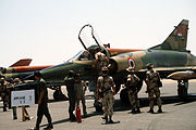 Egyptian Mirage 5 at Cairo-West 1985