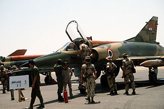 Egyptian Armed Forces - Egyptian Mirage 5 at Cairo-West 1985