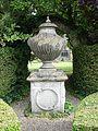 Egyptian Urn, Lord Leycester Hospital Garden, Warwick.JPG