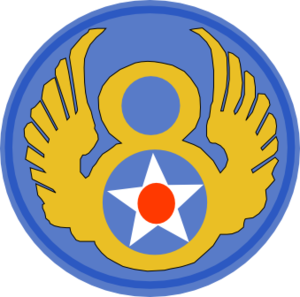 Bombing of Essen in World War II - Image: Eighth Air Force Emblem (World War II)