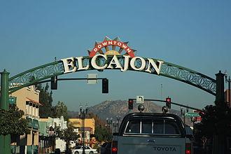 El Cajon, California - Image: El Cajon