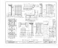 El Palacio Real de Santa Fe, Palace Avenue, Santa Fe, Santa Fe County, NM HABS NM,25-SANFE,2- (sheet 22 of 26).png