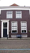 foto van Huis met lijstgevel parterre en zolderverdieping