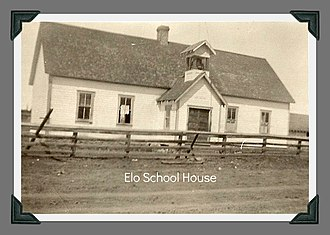 National Register of Historic Places listings in Valley County, Idaho - Image: Elo School