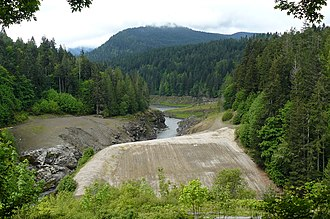 Elwha Ecosystem Restoration - Elwha Dam removal finished (May 2013).